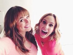 Lea Michele and Keltie Knight for The Insider