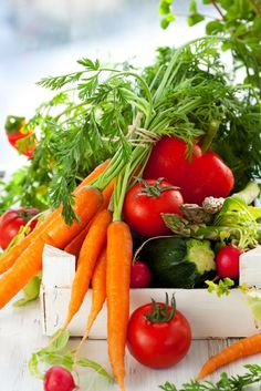 Fresh, organic vegetables will enhance the flavour of any meal