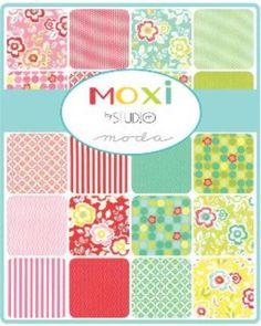 Moda Fat Quarter Bundle - Moxi by Studio M