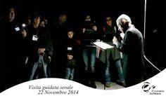 Un momento della #visitaserale, il reading dell' attore #FabioRossi #Solfatara #Pozzuoli