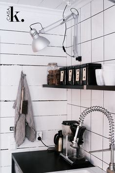 Why not attach a TERTIAL lamp to the wall?   Discovered on caisak.com   live from IKEA FAMILY