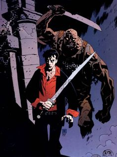 art by Mike Mignola