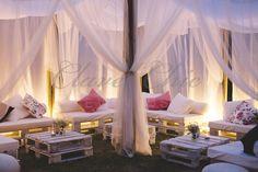 Haz que tus invitados se sientan como en Ibiza con bonito tip. #fiestaibicenca