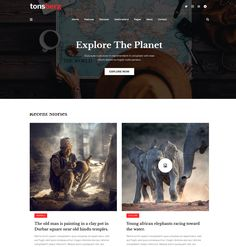 Blog Websites, African Elephant, Blogging, Old Things, Explore, Travel, Viajes, African Bush Elephant