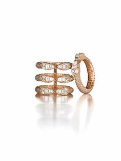 Stack your sparkle.  http://www.barneys.com/on/demandware.store/Sites-BNY-Site/default/Search-Show?q=repossi