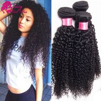 Crochet Hair Websites : Malaysian Kinky Curly Virgin Hair 3pcs Queen Hair Products Curly Hair ...