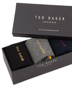 TED BAKER - Luxury Socks Luxury Socks a5a76accddf