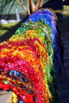 the rainbow of fiber..