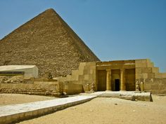 The Great Pyramid of Giza and Mastabas, Egypt