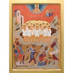 Holy Innocents of Bethlehem, Starting at $3.00. All sizes. Catalog of St. Elisabeth Convent. http://catalog.obitel-minsk.com/ministry #CatalogOfGoodDeed #buy #order #icon #saints #church #orthodox #Christianity #wood #ecclesiastical #Innocents