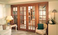 Double French Doors. Black Millwork Co's friendly and knowledgeable window and doors specialists will walk you through our beautiful showroom in Allendale, NJ, while answering any questions and concerns for your home or commercial residence. www.blackmillwork.com