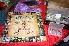 Harry Potter Monopoly.