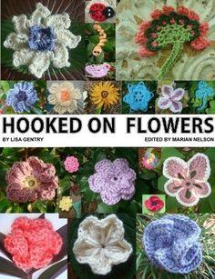 10 Beautiful (and Free) Crochet Flower Patterns by Lorraine Sanderson