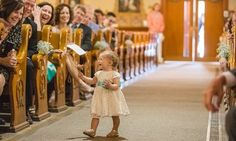 19 Times Flower Girls Stole The Show At A Wedding