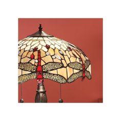 Lampada da Tavolo Tiffany / Abatjour Tiffany con Libellule