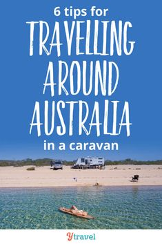 Travelling around Australia with a caravan – insider tips on what vehicle and caravan or camper trailer to use, where to stay, what to take, and much much more! If you are planning to road trip Australia, don't leave home without reading this! Melbourne, Sydney, Visit Australia, Australia Travel, Holiday Destinations, Travel Destinations, Travel Guides, Travel Tips, Travel Goals