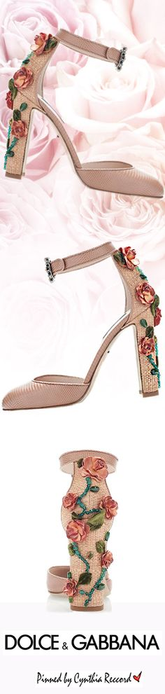 Dolce & Gabbana | SS 2015 Collection | cynthia reccord  |  shoes 1
