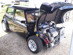 Look at this sick Mini with a K-Series swap!