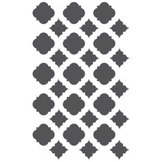 Moroccan Stencils Template For Crafting by JboutiqueStencils, $11.95