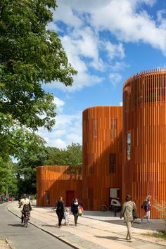 Centro de día en Copenague / Copenhagen Kindergarten - Archkids. Arquitectura para niños. Architecture for kids. Architecture for children.