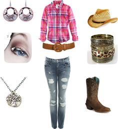 """""""Cowgurl"""" by watson6101 on Polyvore"""