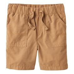 Baby Boy Jumping Beans® Solid Shorts, Size: 24 Months, Med Brown