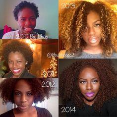 Inspiration after my big chop ~ gorgeous at each phase, sis ❤️ Big Chop Natural Hair, Natural Hair Tips, Natural Hair Journey, Natural Curls, Natural Hair Styles, Au Natural, Going Natural, Natural Life, Hair Like Wool