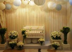 Struggling for ideas for the baby naming ceremony decoration? Remarkable cradle ceremony decoration & themes to make your little one's day memorable. Janamashtami Decoration Ideas, Cradle Decoration, Baby Boy Christening Cake, Christening Gowns Girls, Baptism Dress, Baptism Decorations, Ceremony Decorations, Baby Shower Decorations, Naming Ceremony Decoration