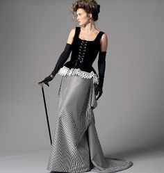 Misses' Corset and Skirt. Gorgeous pattern still available from butterick.