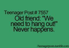 .SO TRUE!! It's extremely sad...
