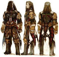 Week 12 - Final Fantasy XII - Concept Art Mon - Vayne Concept