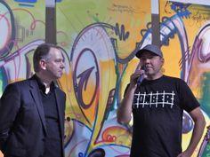 Interview mit Helge W. Steinmann aka. Bomber, Vernissage in der Heyne Kunst Fabrik Offenbach, 7. November 2013