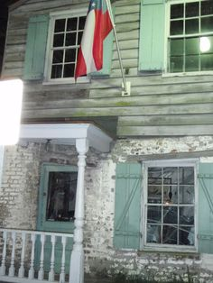 Oldest house in Savannah GA. Housed the pirates next to Pirates House Restaurant.