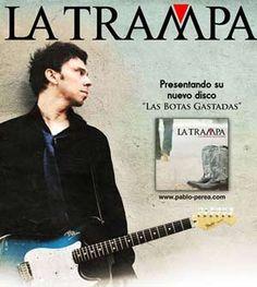 """La Trampa. Viernes 10 en La Casa del Loco presenta su nuevo disco.""""Las Botas Gastadas"""" consta de 12 temas nuevos con colaboraciones como la de Carlos Tarque de M-Clan y una regrabación del clásico """"Acércate y Bésame"""". #latrampa #mclan"""