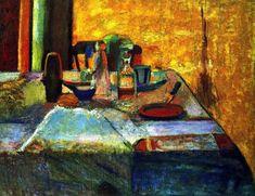 Still Life against the Light, 1899 Henri Matisse