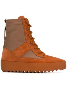 Shop Yeezy Season 3 military boots in Minetti from the world s best  independent boutiques at farfetch f8abd80fd