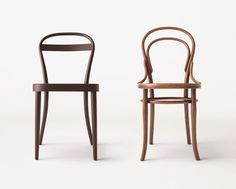 Muji manufactured by Thonet - collections of tubular steel and bent wood furniture