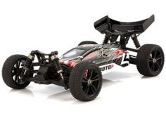 Himoto Tanto Buggy 1/10 Fırçasız 4WD Siyah Elektrikli
