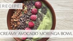 Time to up your smoothie bowl game with this moringa-infused superfood delight. Enjoy!