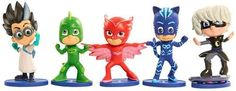 Collect your favorite characters like Catboy, Owlette and Gekko with this PJ Masks collectible figures. All Toys, Toys For Boys, Lego, Mighty Ape, Prehistoric Creatures, Pj Mask, Disney Junior, Action Poses, Electronic Gifts