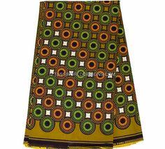 Wholesale African print fabric / Nigerian fabric/ Ankara Wax Block Fabric/ African Print/ African Clothing/ Ankara print/ 6 yards WP842 by TessWorldDesigns on Etsy