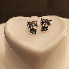 JU 12 Fairy Store   Fashion Style Owl Rhinestone Cute Vintage Ear Stud Earrings 1 Pair♦️ SMS - F A S H I O N 💢👉🏿 http://www.sms.hr/products/ju-12-fairy-store-fashion-style-owl-rhinestone-cute-vintage-ear-stud-earrings-1-pair/ US $0.40    Folow @fashionbookface   Folow @salevenue   Folow @iphonealiexpress   ________________________________  @channingtatum @voguemagazine @shawnmendes @laudyacynthiabella @elliegoulding @britneyspears @victoriabeckham @amberrose @raffinagita1717 @ivetesangalo…