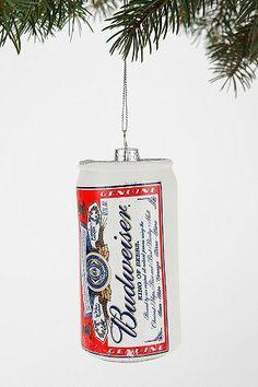 Kurt Adler Large Budweiser Ornament