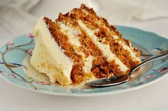 Hawaiian Carrot Cake with Coconut Icing.