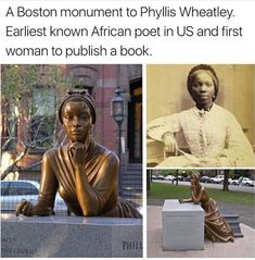 Phyllis Wheatley | Inspirational Women
