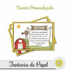 CONVITE FAZENDINHA AMARELA II