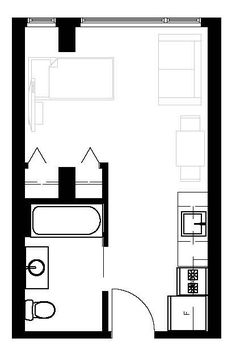 Studio Apartment Floor Plans 400 Sq Ft zbox of the week: 350 sq. ft. studio. | fan worthy: pins from our