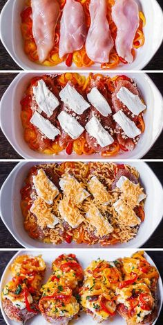 Spicy and Creamy Cajun Chicken with Bell Peppers - easy, lean, and healthy one-pan dinner! The chicken breasts are coated with the homemade Cajun seasoning and topped with cream cheese. Then, the chicken is oven-baked on top of the sliced bell peppers. Low Carb Recipes, Cooking Recipes, Healthy Recipes, Cajun Cooking, Free Recipes, Creamy Chicken Bake, Chicken Breast Cream Cheese, Baked Cajun Chicken, Keto Chicken