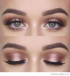 Bridal Makeup Natural Green Eyes Lashes 47 Fashion Ideas Bridal Makeup Natural Gr Gardening can Bird Makeup, Day Makeup, Blue Eye Makeup, Summer Makeup, Skin Makeup, Eyeshadow Makeup, Prom Makeup, Smoky Eyeshadow, Eyelashes Makeup
