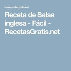 Receta de Salsa inglesa - Fácil - RecetasGratis.net